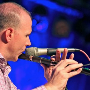Kevin Crawford playing the Irish Flute in concert - Ceili at the Roundhouse Celtic Festival