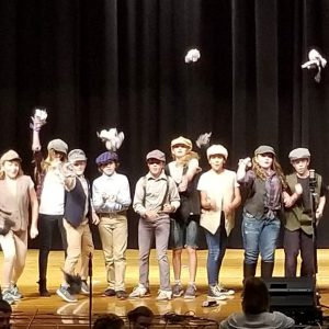 MAT Camp theater production from Newsies