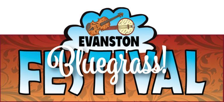 Evanston Bluegrass Festival Logo