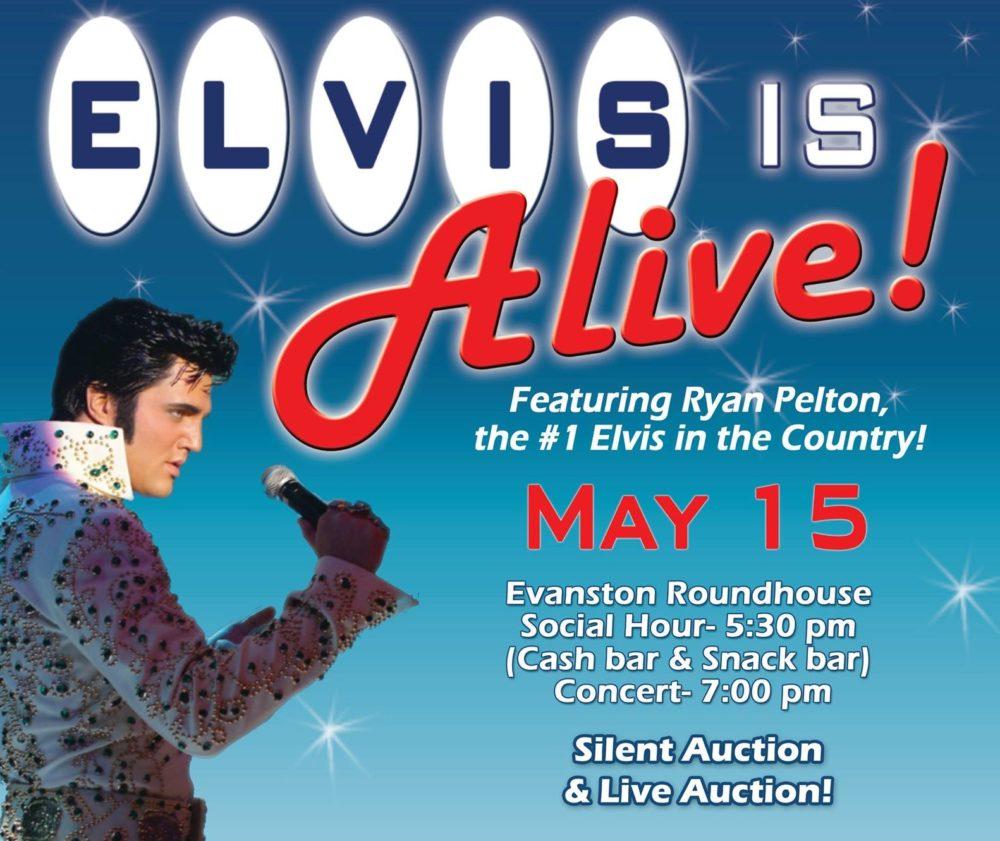 Elvis is Alive Fundraiser
