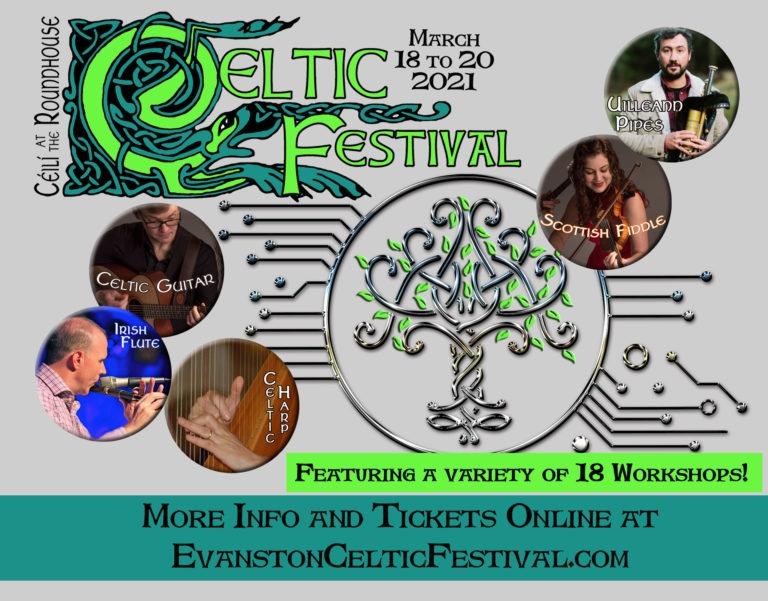 2021 Celtic Festival Poster