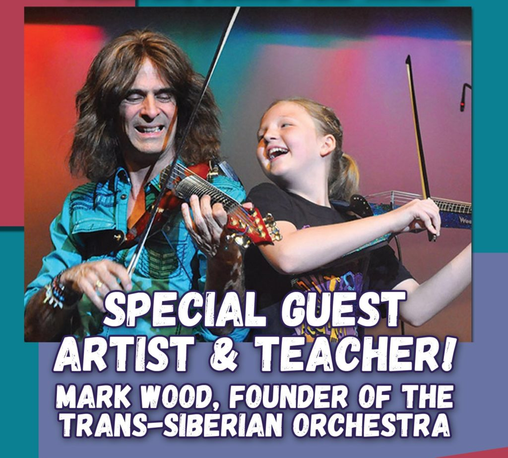 Mark Wood Founder of the Trans-Siberian Orchestra - Special Guest Artist & Teacher