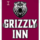 The Grizzly Inn logo featuring a bear head - Evanston, Wyoming